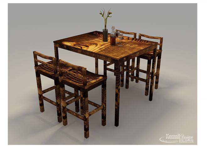 Khmer Furniture Dining Tables Dining Tables-FP2 in Cambodia